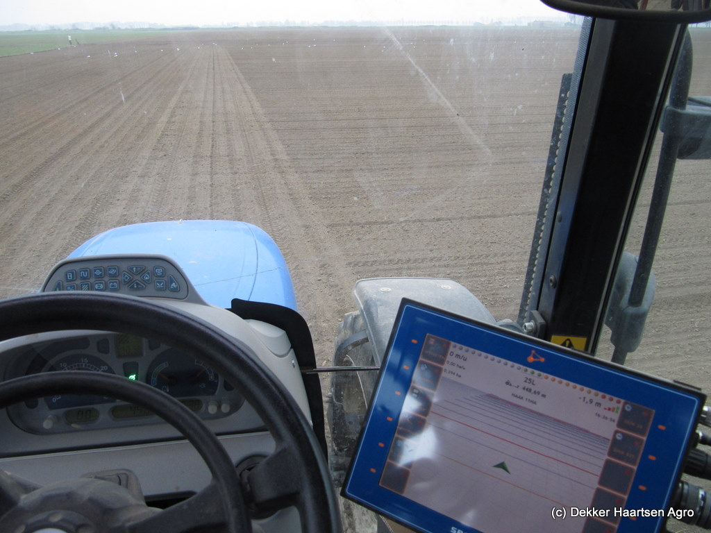 New Holland T6020 GPS