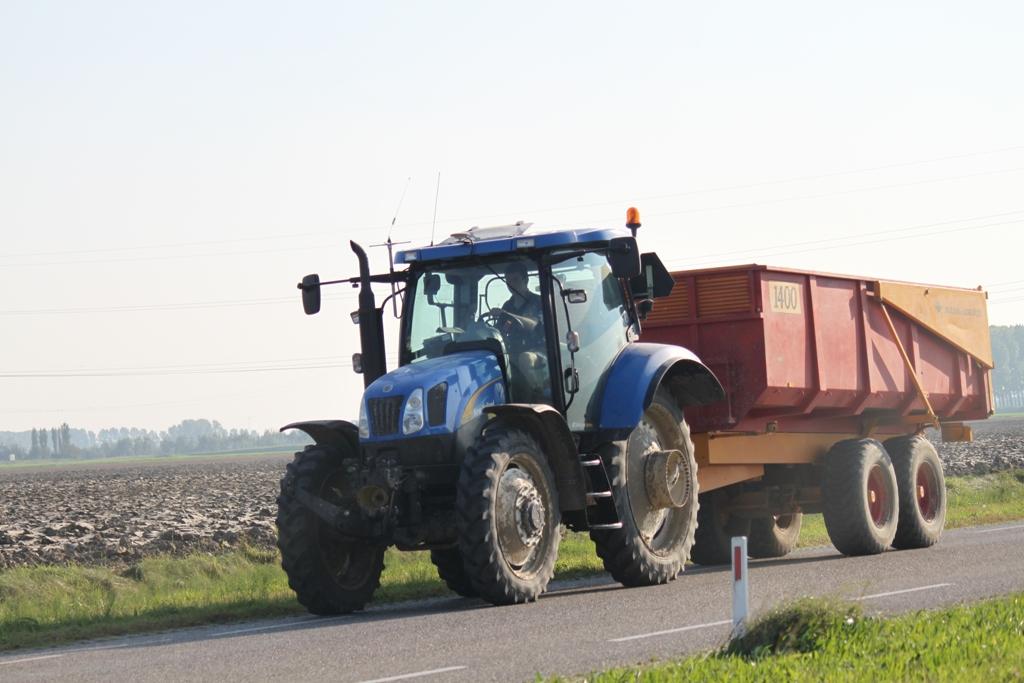 T6020 met Bijlsma onderweg