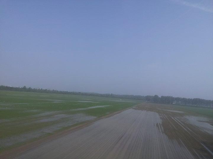 Wateroverlast na de plaatselijke on...